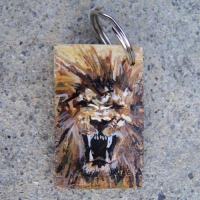 Lion of Judah Keychain